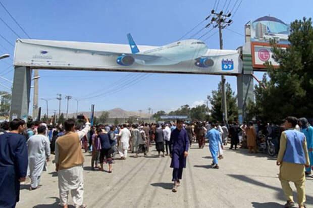 Американского военного ранили в аэропорту Кабула