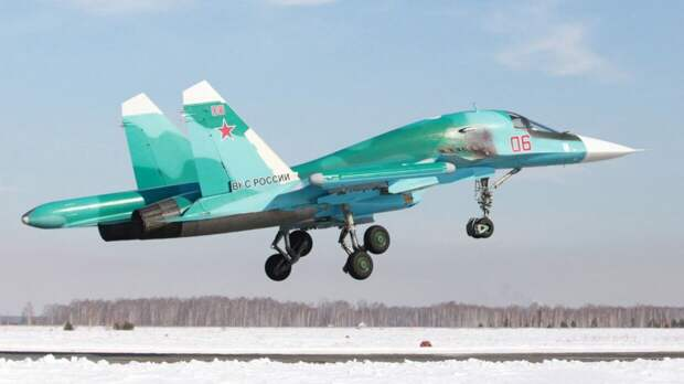 Эскадрилья истребителей Су-34 будет размещена на арктических островах