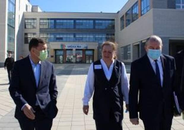 губернатор Свердловской области посетил Невьянск