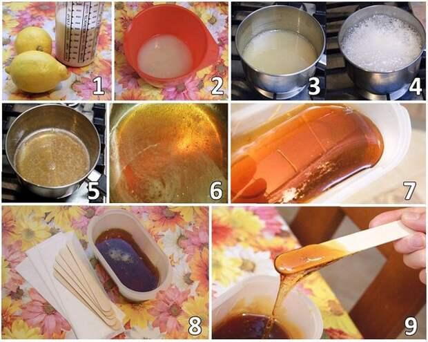 Шугаринг. Как приготовить сахарную пасту для депиляции.