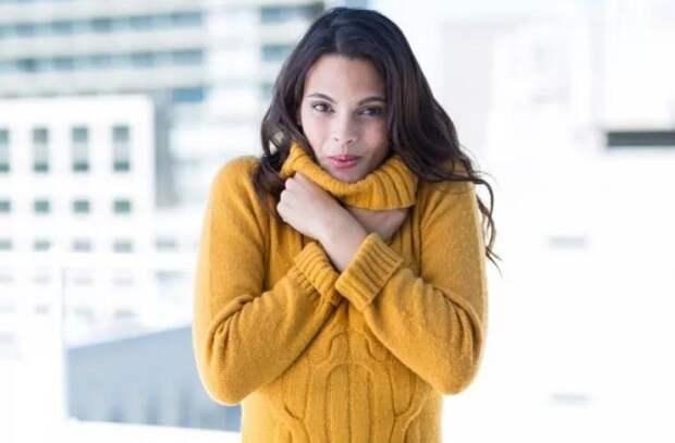 Почему женщины восприимчивее к изменениям температуры