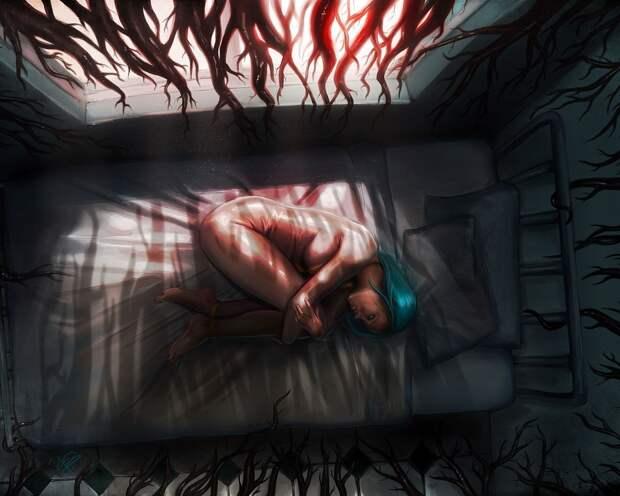 Ночные ужасы. Несколько рассказов людей, в которых они описывают свои самые страшные кошмары