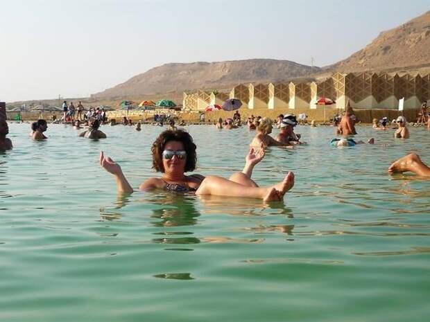 Лечебная процедура в Мёртвом море не более 15 минут