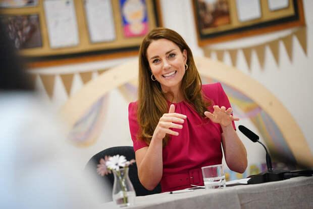 Кейт Миддлтон знает, что ответить журналистам на вопросы о малышке Лилибет