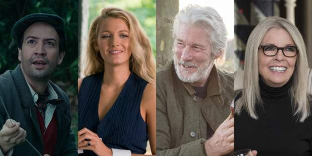 Ричард Гир, Дайан Китон и Блейк Лайвли сыграют в романтической комедии о кино
