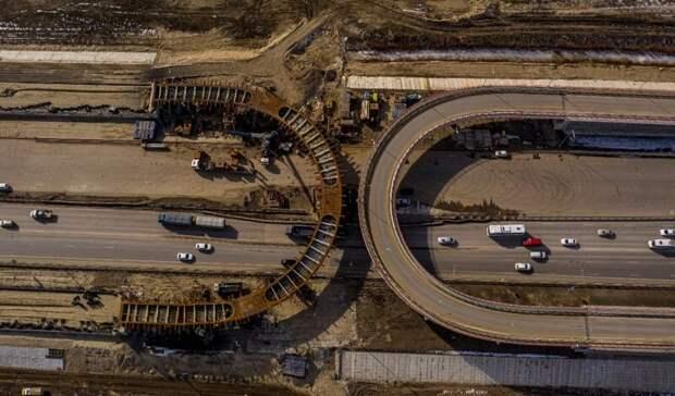 Оходе строительства второй очереди Южного подъезда рассказали вРостове