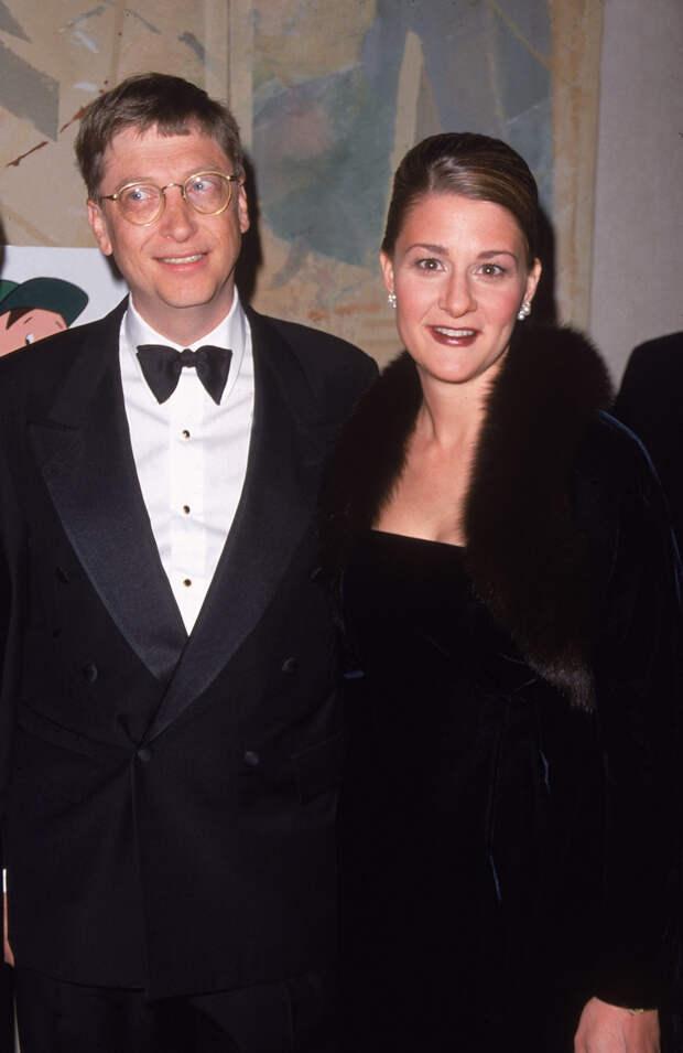Билл и Мелинда Гейтсы в 1998 году