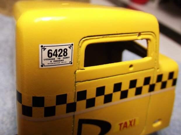 """Diabolic Taxi"" или...Трэш в масштабе 1:24"