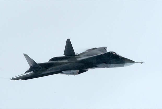 Истребитель Т-50 программы ПАК ФА