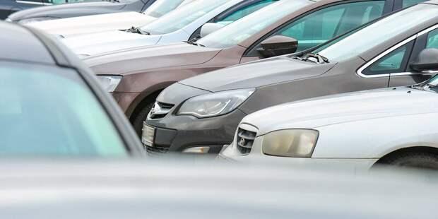 Жители Южного Тушина смогут продлить разрешение на парковку со шлагбаумом до 26 августа