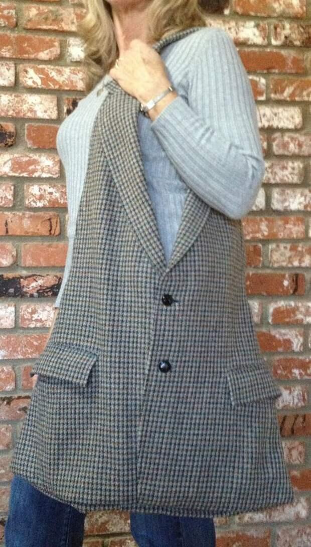 Сумка из пиджака