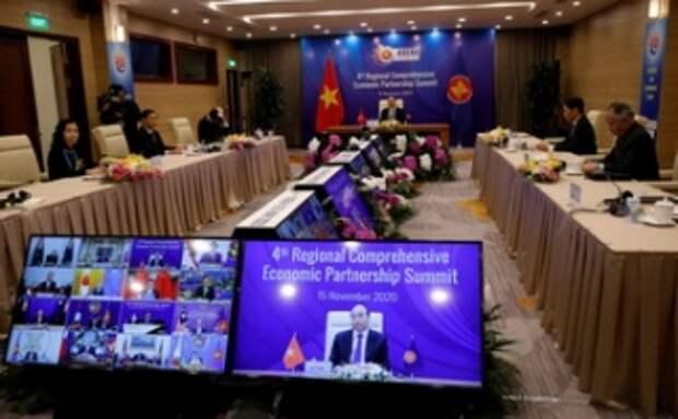Пекин и 14 стран Азии создали крупнейшую в мире зону свободной торговли