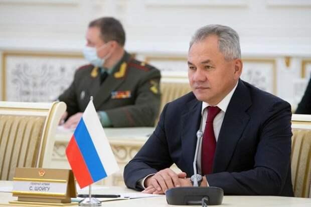Шойгу доложил Путину о подготовке к параду Победы в Москве