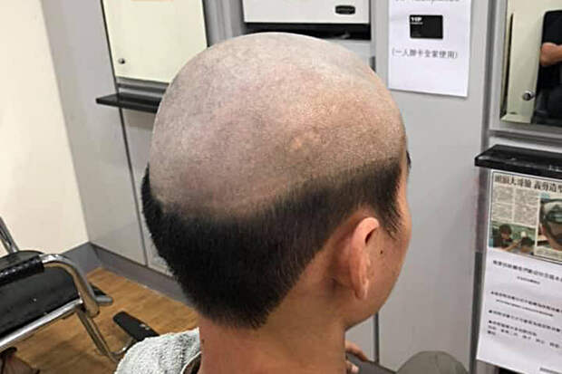 Жительница Тайваня придумала новый способ «защиты» от COVID-19 при помощи «уродливой» стрижки