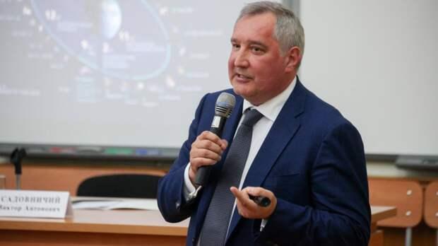 """Рогозин счел несодержательным выступление Маска на """"Новом знании"""""""