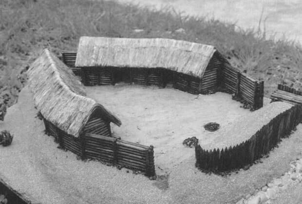 Славянское укрепленное поселение 8 - 9 в.н.э