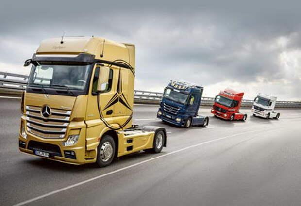 Грузовик Mercedes-Benz Actros: эксклюзив к юбилею