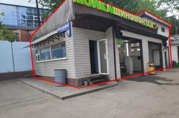 Незаконно возведенные шиномонтаж и автомойку снесли в Алексеевском