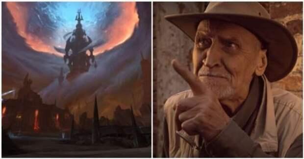 Николай Дроздов снялся в официальном видеоролике о мире дополнения игры World of Warcraft (1 фото + 1 видео)