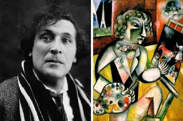 Марк Шагал. \ Фото: bomengart.com.