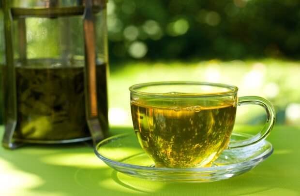 зеленый чай от высокого давления