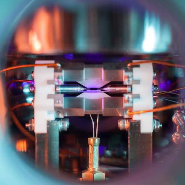 Как выглядит одиночный атом?