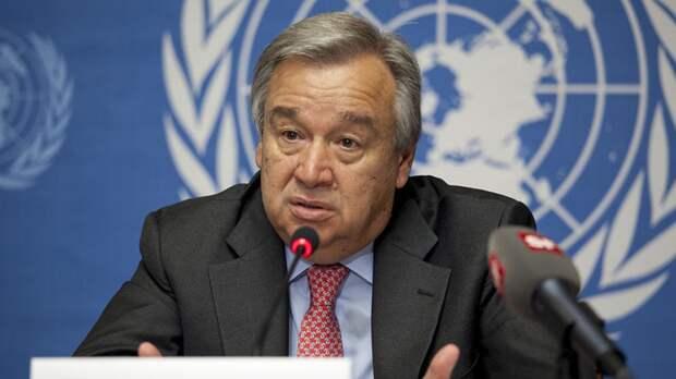 Генсек ООН обратился к участникам палестино-израильского конфликта