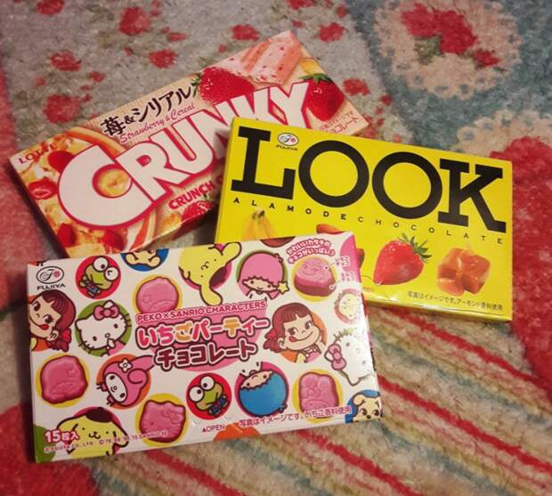 японские шоколадки и шоколадные конфеты