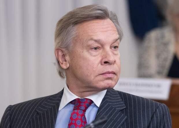 Пушков рассказал, почему Зеленский остался без поздравления Путина