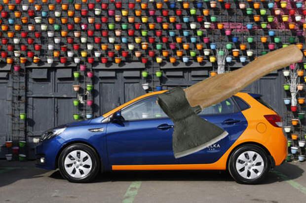 Пельмени, топоры и люди: что забывают в каршеринговых автомобилях