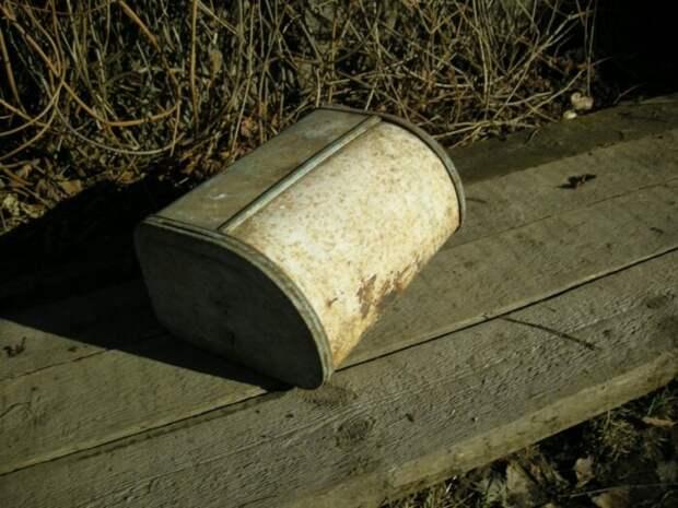 Всего лишь хлебница. /Фото: kodudelka.ru.