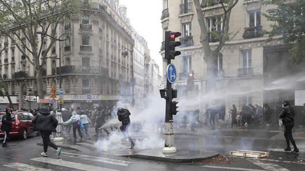 В Париже проходит демонстрация из-за обострения палестино-израильского конфликта