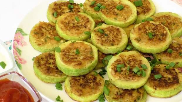 Вкусные фаршированные кабачки на сковороде.