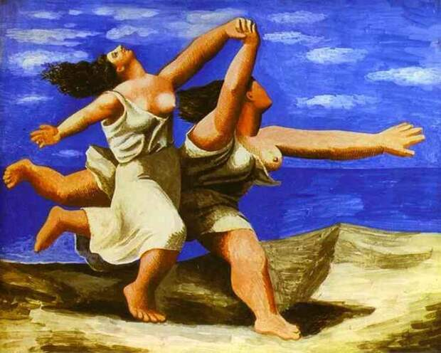 Pablo Picasso — Women Running on the Beach, 1922