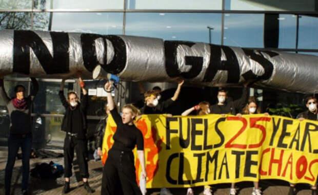 Немецкие экологи грозят намерениями остановить «Северный поток— 2»