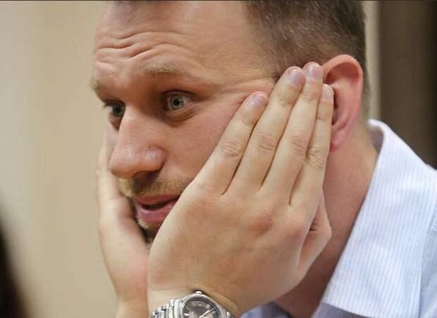 Навальнисты стали тырить фотки, чтобы прикрыть провал акции с фонариками