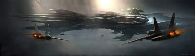 Фантастические миры художника Emmanuel Shiu