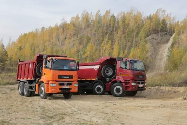 Тест-драйв новых «КАМАЗов» в Казани авто, грузовики, камаз, самосвалы, тест-драйв, фотография