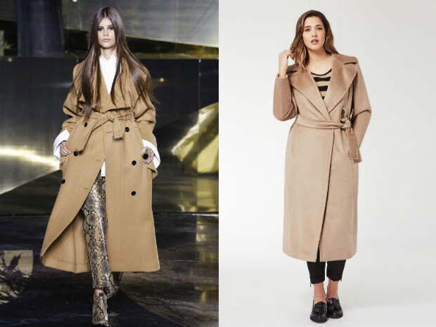 Верхняя одежда для полных осень-зима 2016-2017 Marina Rinaldi, H&M