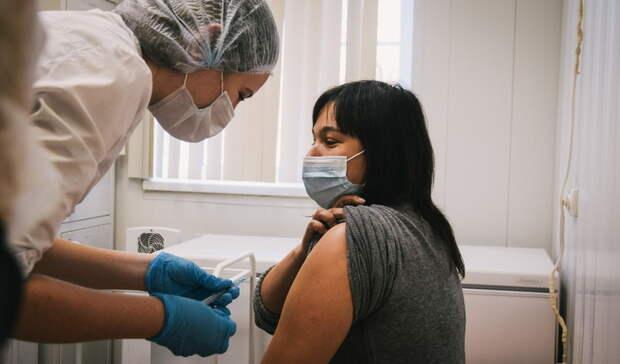 В Орске первым компонентом вакцины от коронавируса привились более 17 000 человек