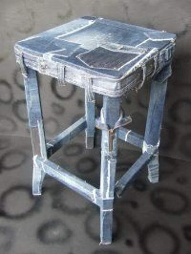 Джинсовая мебель часть 2 (трафик)