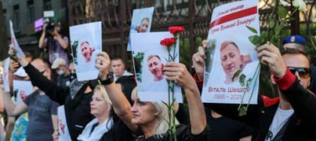 Белорусские мигранты в Киеве призвали «браться за вилы и сносить Лукашенко»