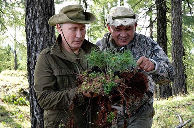 Кремль опубликовал архивные снимки к 20-летию Путина у власти