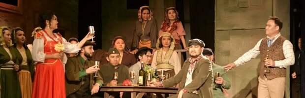 Оперой «Сельская честь» насладились жители Шымкента
