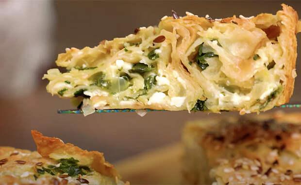 Осетинский пирог без теста: гости не поняли, что выпечка сделана полностью из лаваша