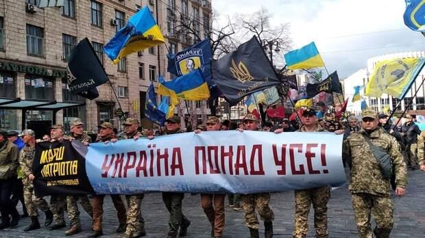 Диалектическая пара «язык» и «сапог» на Украине вступила в синтез