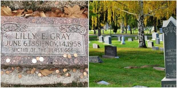 Загадка могилы Лилли Э.Грей - «Жертвы Зверя 666»