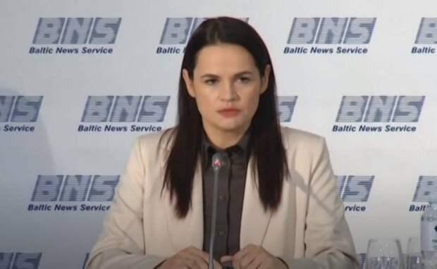 Тихановская объявила себя символом борьбы за права белорусов