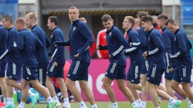 Стал известен стартовый состав сборной России на матч с Финляндией