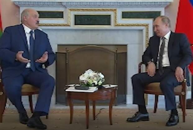 Встреча Путина и Лукашенко продлилась более пяти часов